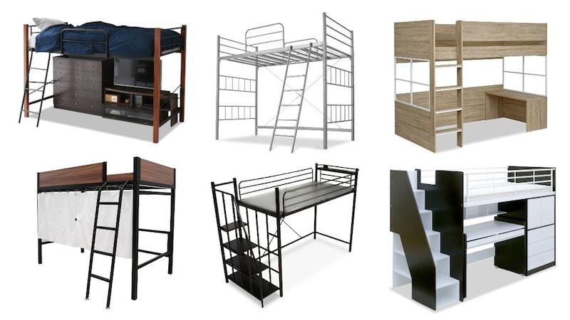 【2021】ロフトベッドのおすすめ人気ランキング15選|大人にも!階段付きやおしゃれな商品を紹介