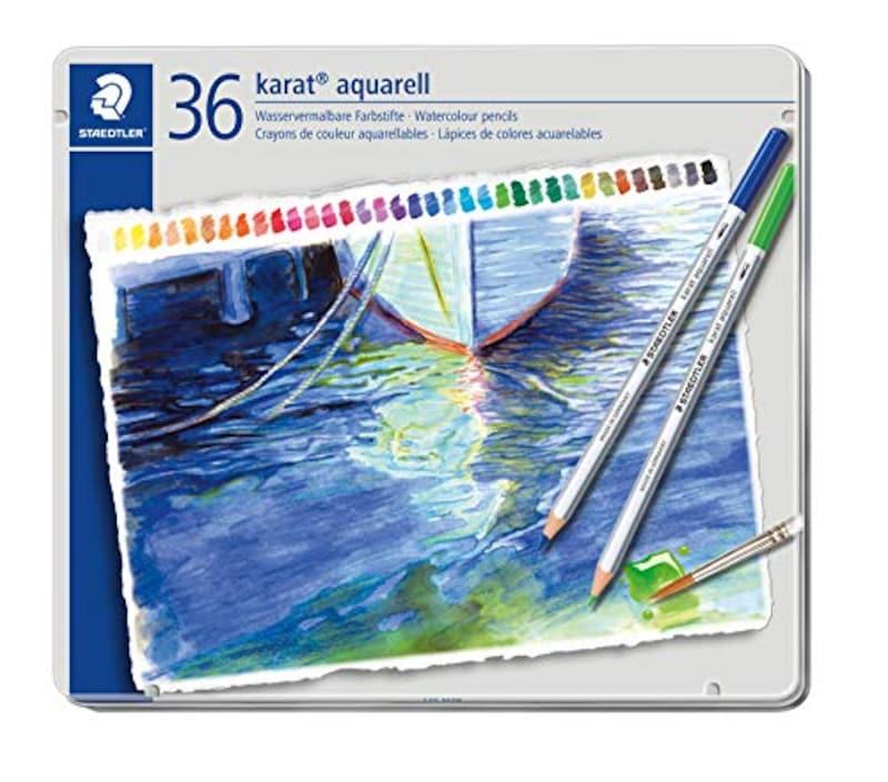 ステッドラー(STAEDTLER),水彩色鉛筆 36色