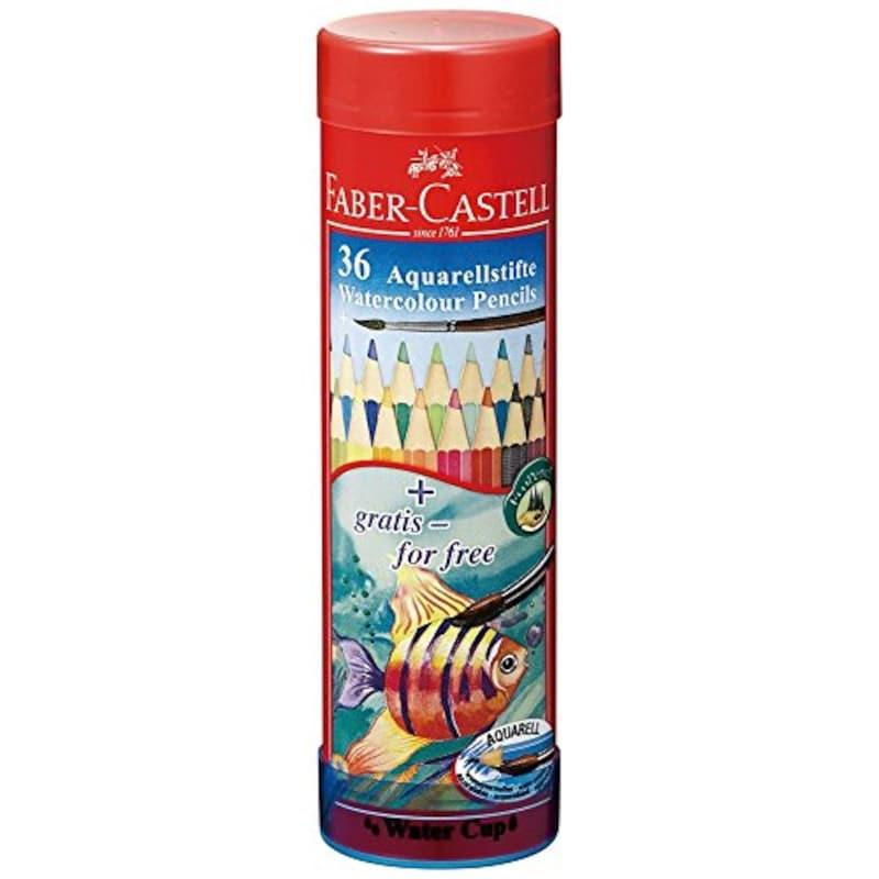 ファーバーカステル(FABER-CASTELL),水彩色鉛筆 丸缶36色セット