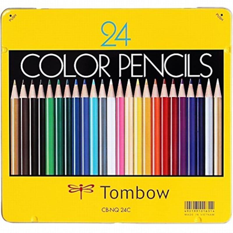 トンボ(Tombow),色鉛筆 NQ 24色,CB-NQ24C