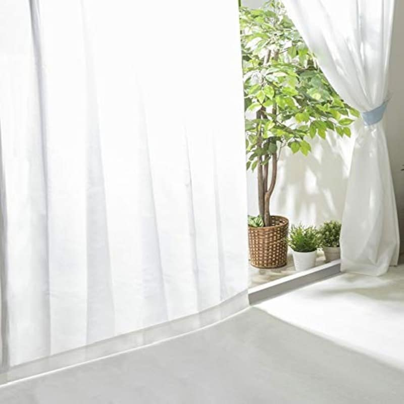 アイリスプラザ(IRIS PLAZA),UVカットレースカーテン
