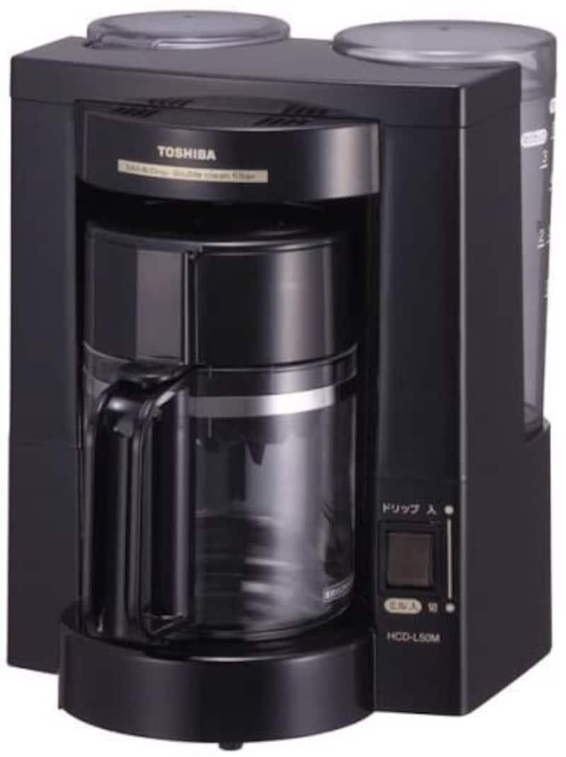 東芝(TOSHIBA),コーヒーメーカー,HCD-L50M