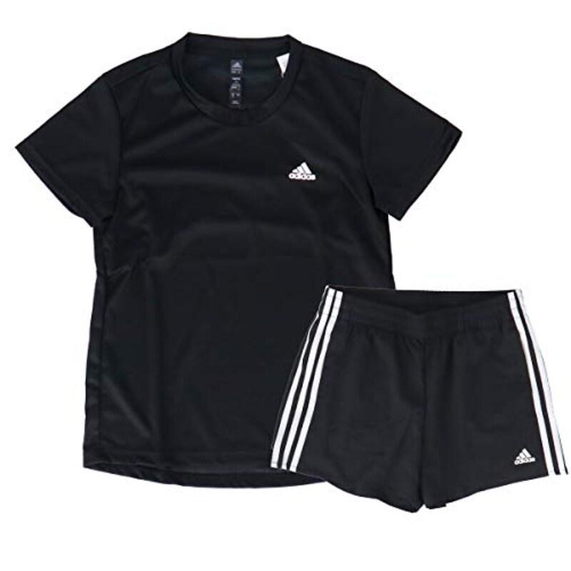 adidas(アディダス),Tシャツ・ショートパンツ レディース 上下,28845