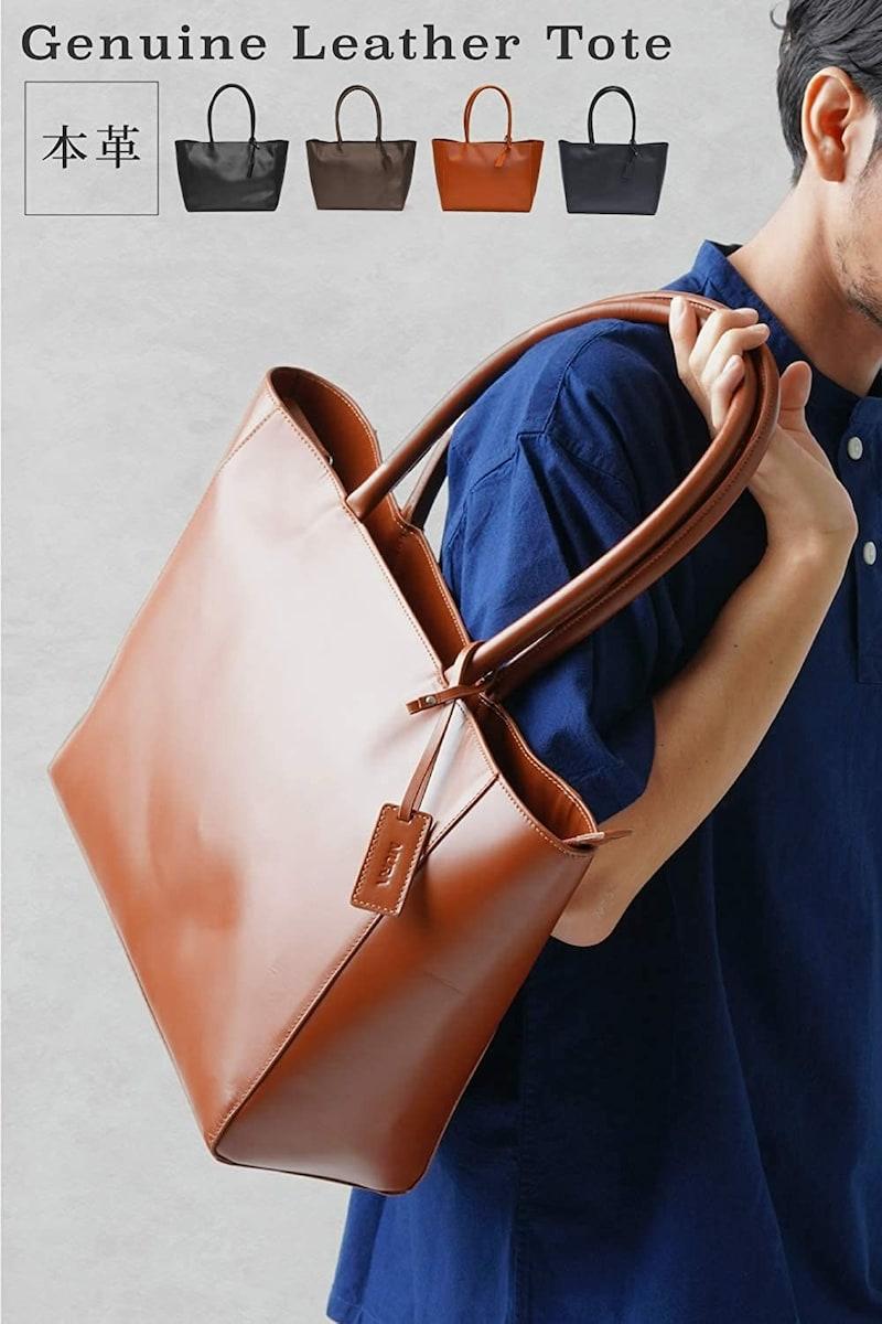 MURA(ムラ),Genuine Leather Tote