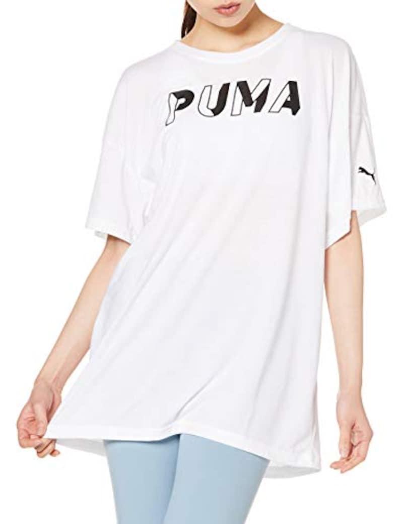 PUMA(プーマ), Tシャツ ロング丈 半袖 MODERN SPORTS