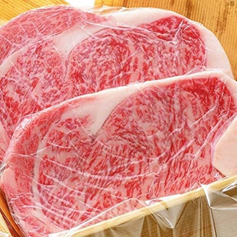 米沢牛黄木,米沢牛サーロインステーキ
