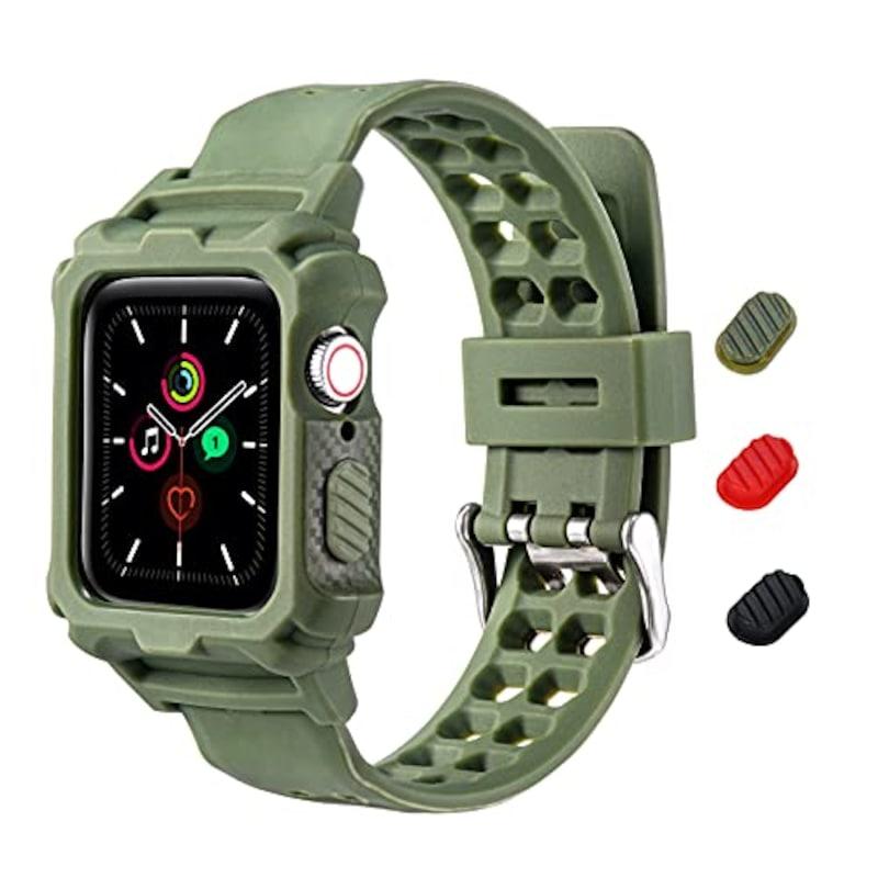 KIMOKU ,コンパチブル Apple Watch バンド