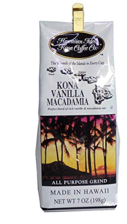 ハワイアンアイルズ,コナコーヒーバニラマカダミアナッツ,B0016LQLXK