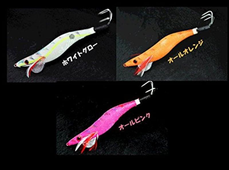 マルシン漁具,オクトパスタップ ホワイトグロー 3.5号