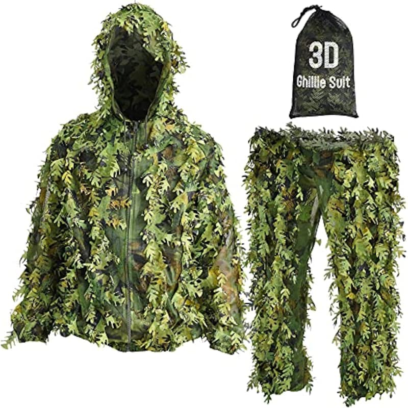 CLOTHASSIS,超軽量3Dメッシュ構造ギリースーツ