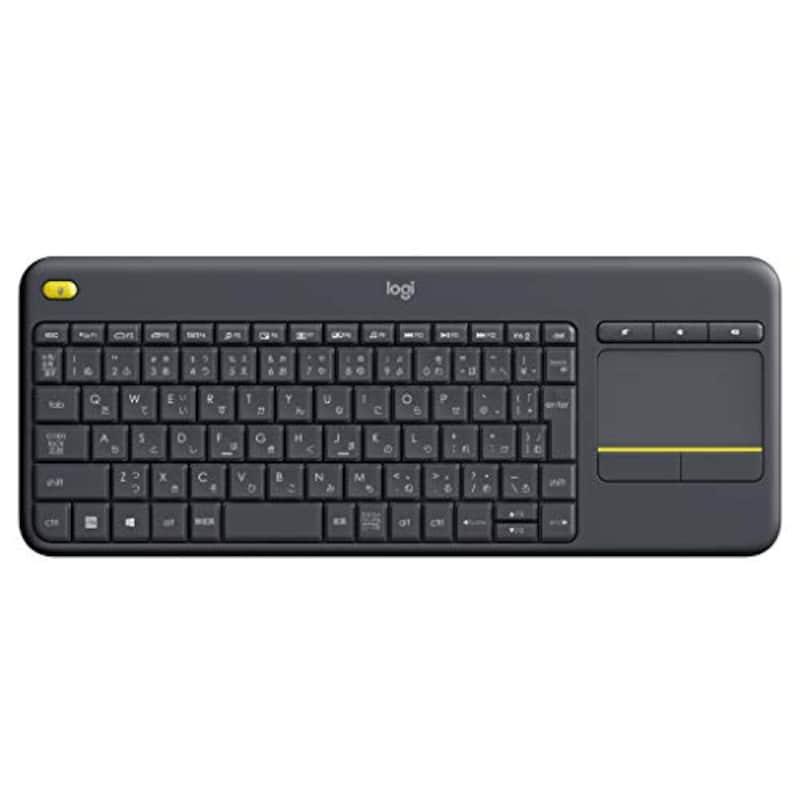 Logicool(ロジクール),K400 PLUS ワイヤレスタッチキーボード,K400