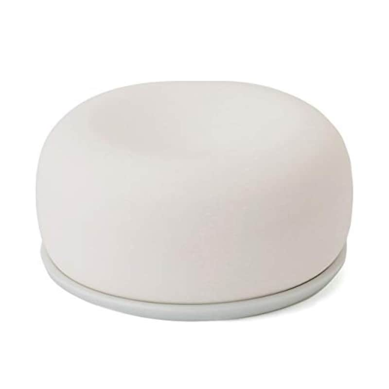 無印良品,アロマストーン 皿付・白