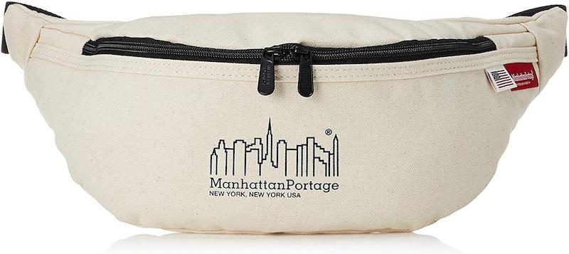 Manhattan Portage(マンハッタンポーテージ),Brooklyn Bridge Waist Bag Canvas