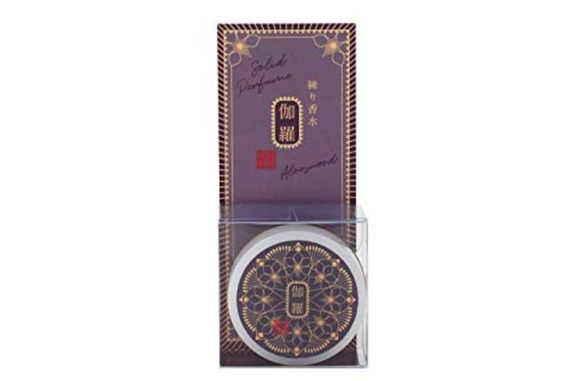 コトラボ,金箔入り透明練り香水 伽羅の香り