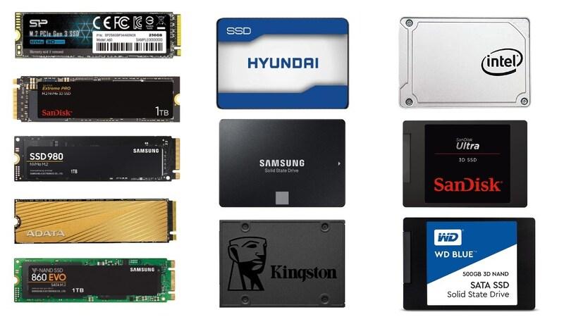 内蔵SSDのおすすめ人気ランキング20選|SATAとM.2に分けて紹介!有名メーカーやケースもチェック