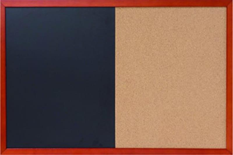 ワールドクラフト,ブラックボード&コルクボード マグネット 対応 WBD-BC4060,WBD-BC4060