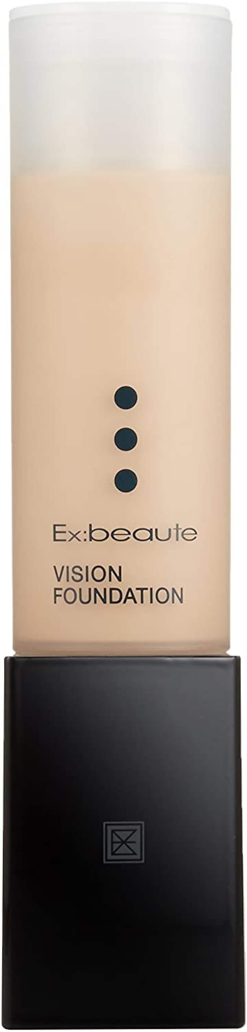 Ex:beaute(エクスボーテ),ビジョンファンデーション リキッド モイストタイプ