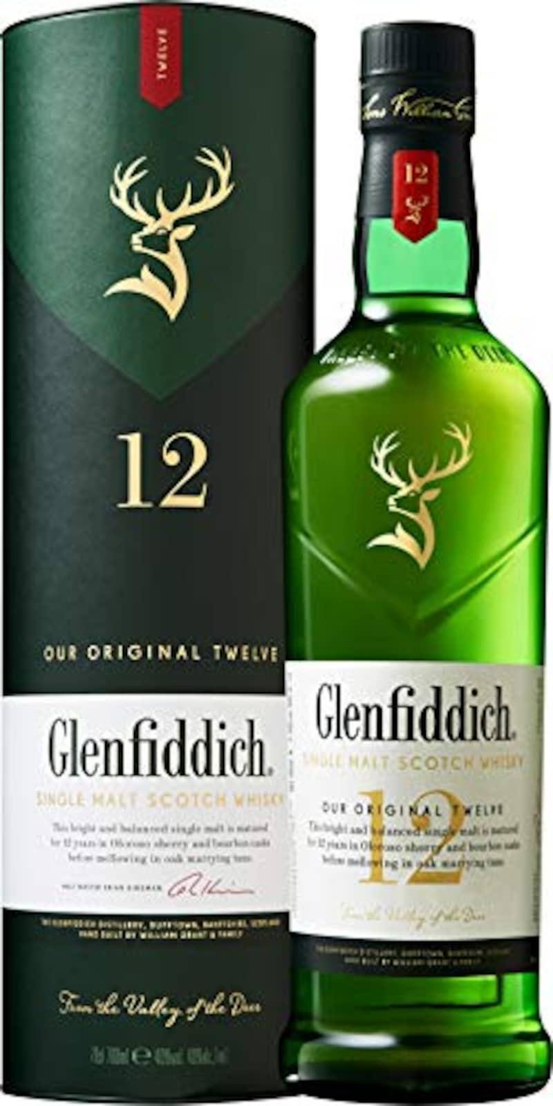 SUNTORY(サントリー),Glenfiddich(グレンフィディック)12年
