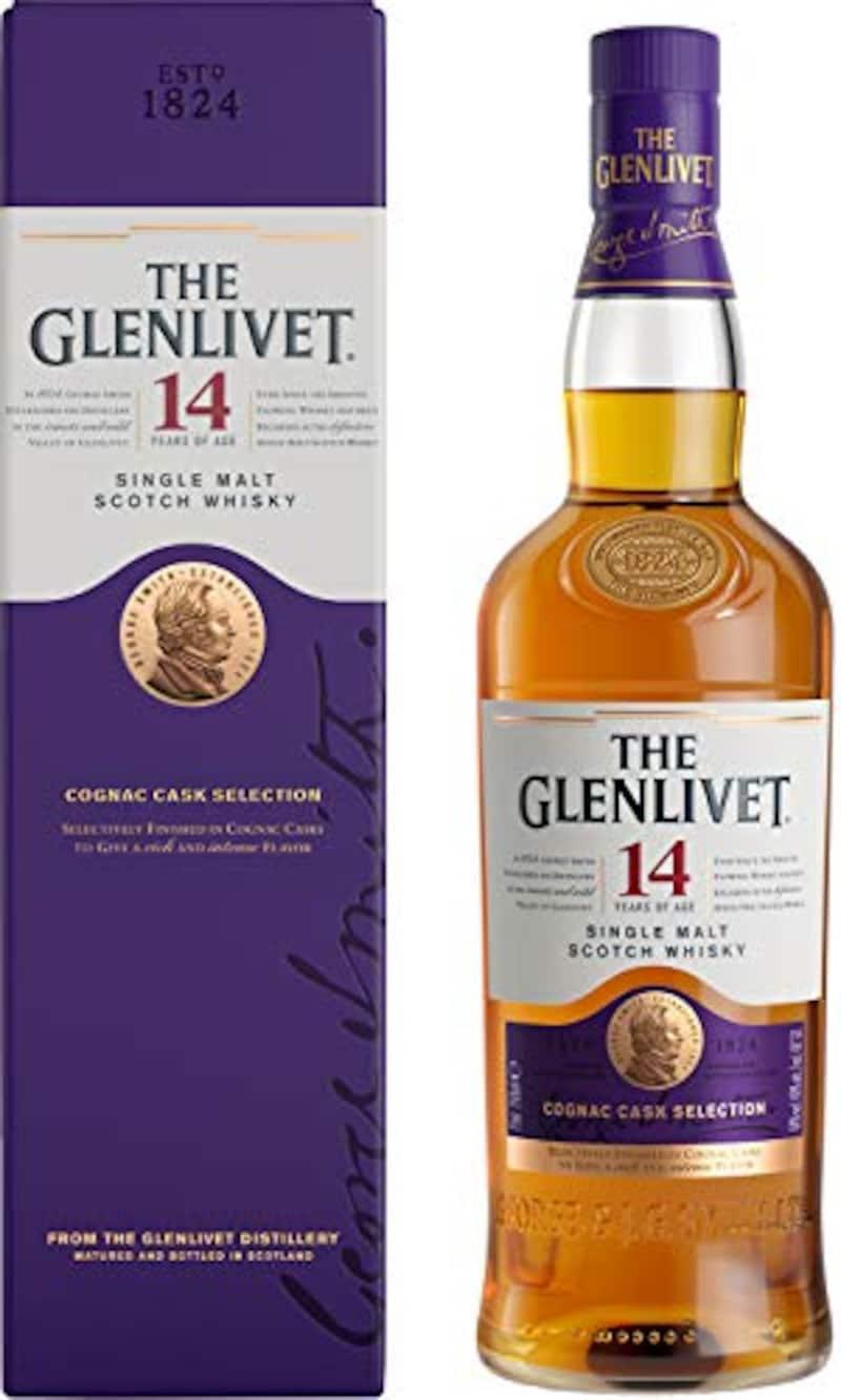 ペルノリカール,THE GLENLIVET(ザ・グレンリベット)14年 コニャックカスク・セレクション