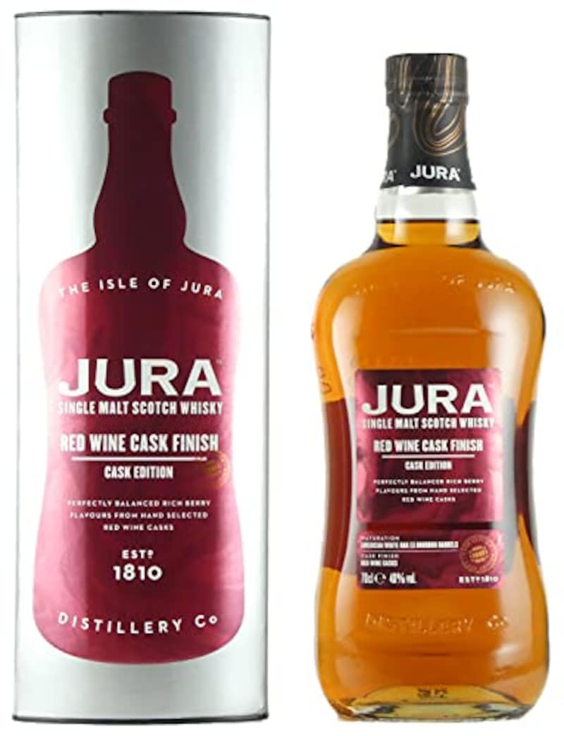 Isle of Jura(アイル・オブ・ジュラ),JURA(ジュラ)レッドワインカスクフィニッシュ