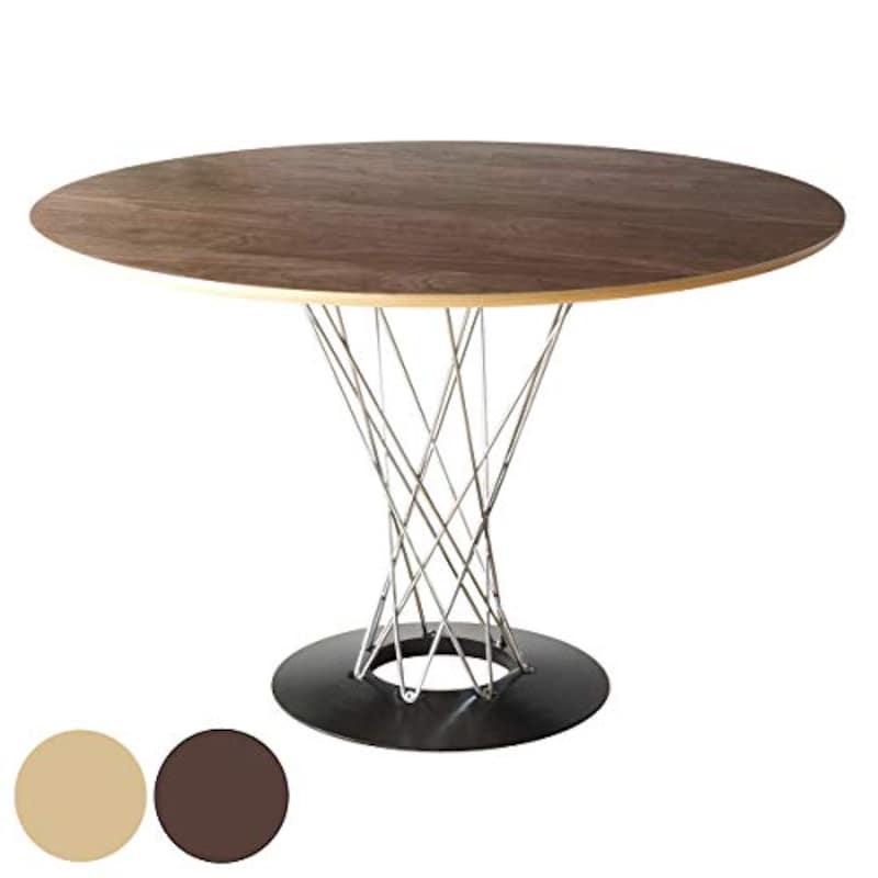 イサム・ノグチ,丸テーブル 木製,B01FGW95SY