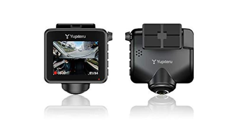 YUPITERU(ユピテル),全周囲360°記録対応ドライブレコーダー,Q-20
