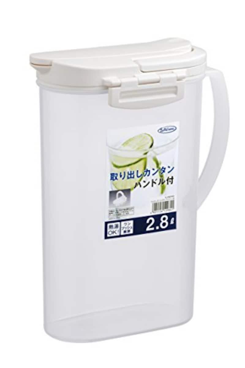 岩崎工業,冷水筒 フェローズ ハンディプッシュ 2.8L,K-298NW