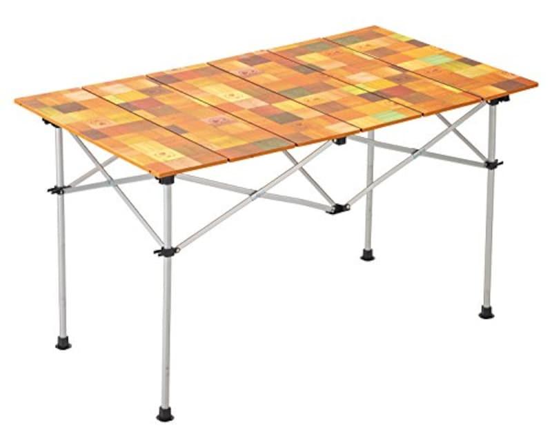 Coleman(コールマン),ナチュラルモザイクロールテーブル 120 4~6人用
