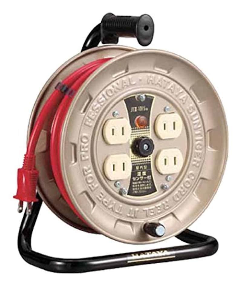 ハタヤ,温度センサー付コードリール,JT3101S