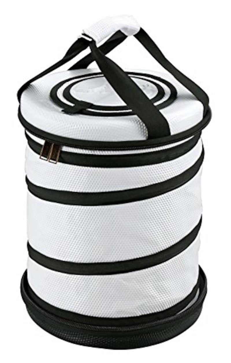 CAPTAIN STAG(キャプテンスタッグ),保冷バッグ 【折り畳み収納可】 ラウンドコールド クーラーバッグ