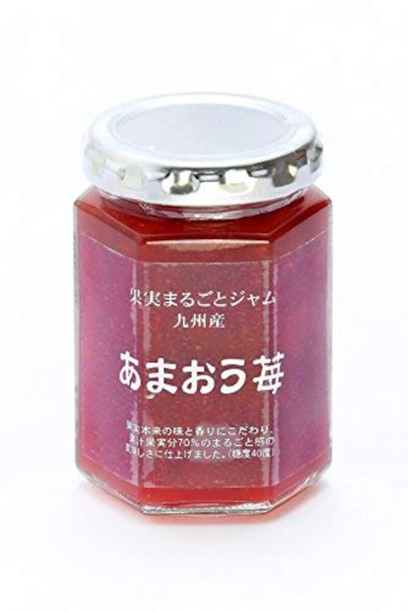ツルヤプレミアム,果実まるごとジャム 九州産 あまおう苺