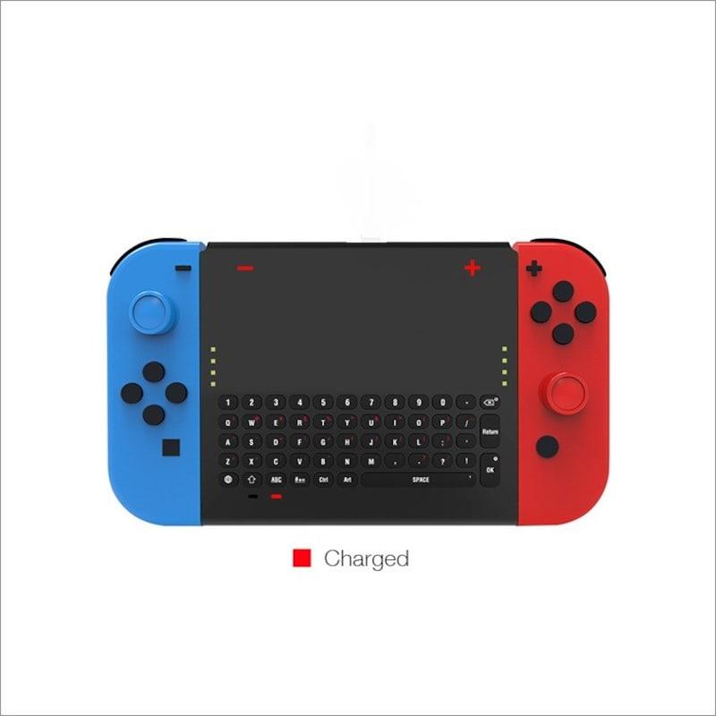 STARABA,Switchジョイコン用 ミニキーボード ワイヤレス 2.4G