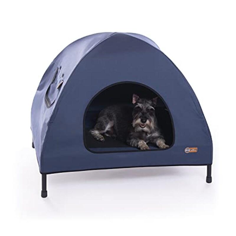 K&H,アウトドアドッグメッシュベッド テント型