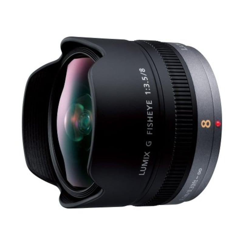 Panasonic,単焦点 魚眼レンズ マイクロフォーサーズ用 ルミックス G FISHEYE 8mm/F3.5 H-F008