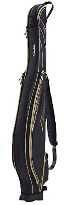 Gamakatsu(がまかつ), がま磯ロッドケース ブラック×ゴールド,GC-286