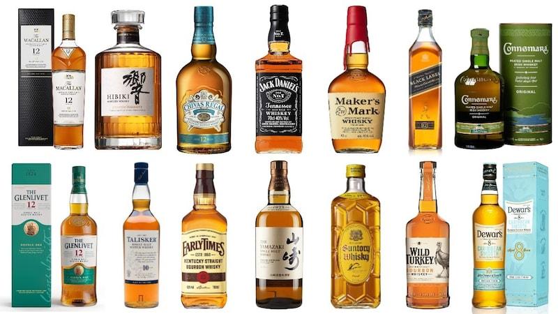 ウイスキーのおすすめランキング30選 初心者に人気の安い銘柄を紹介!種類や美味しい飲み方も
