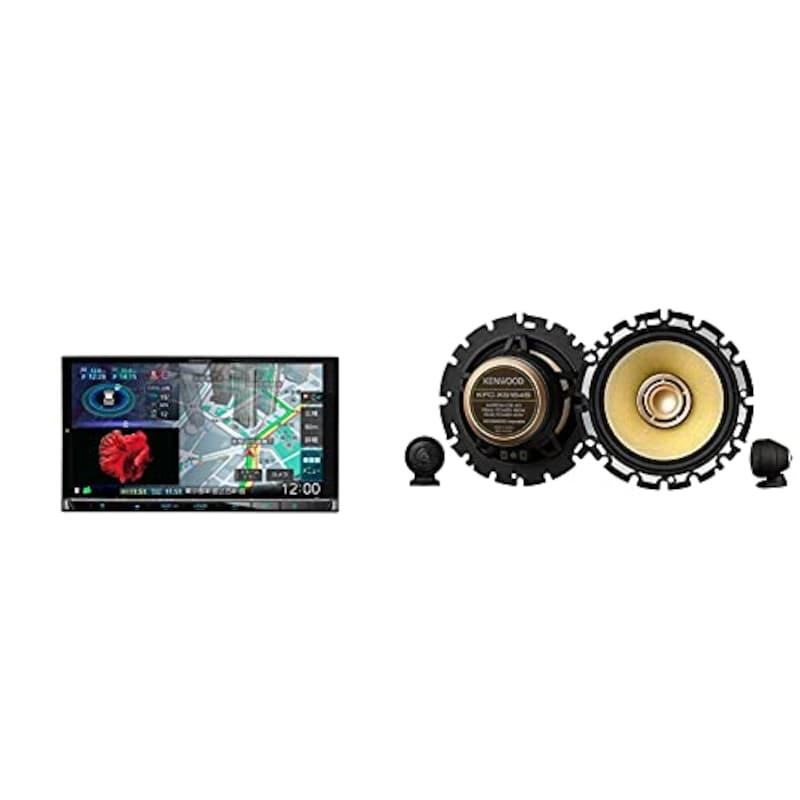 ケンウッド(KENWOOD),彩速ナビ&カスタムフィット・スピーカー ,MDV-M808HD、KFC-XS164S