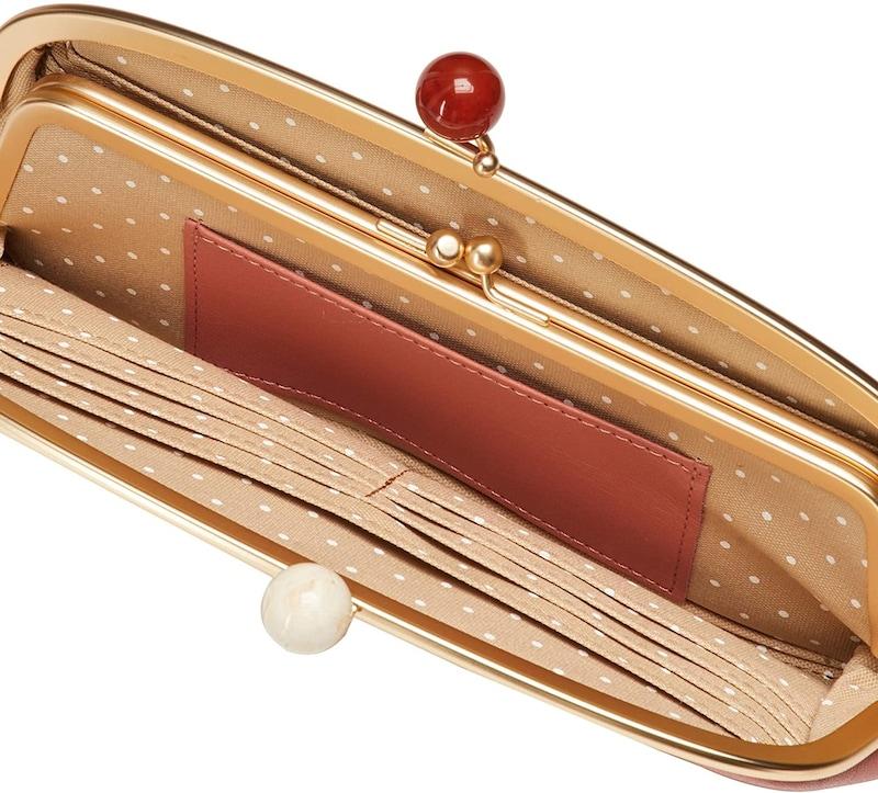 zucchero filato(ズッケロ フィラート),がま口長財布,58057