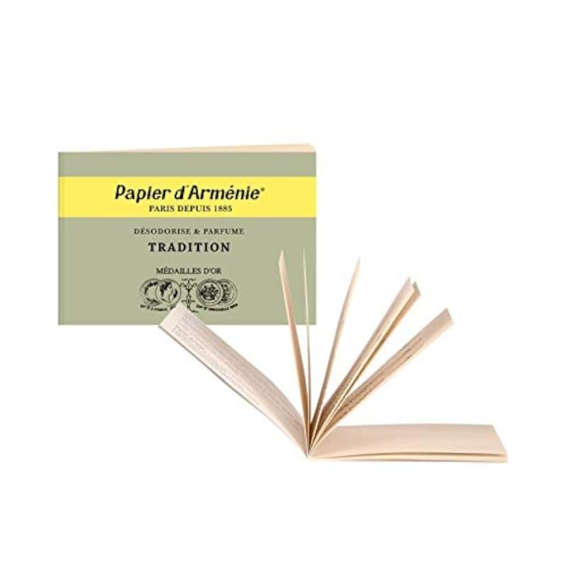 Papier d'Arménie,紙のお香
