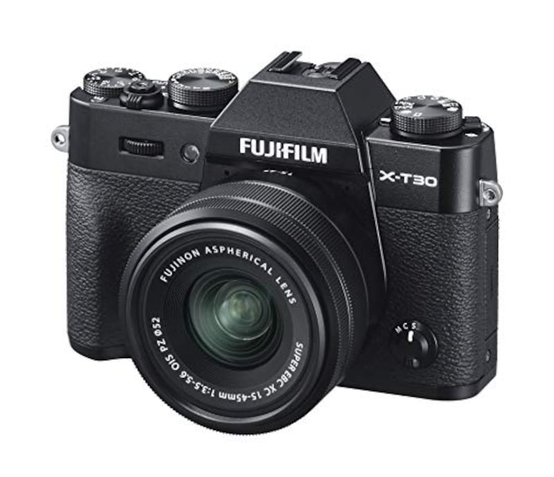 富士フイルム,ミラーレス一眼カメラ X-T30XCレンズキット ブラック,T30LK-1545-B