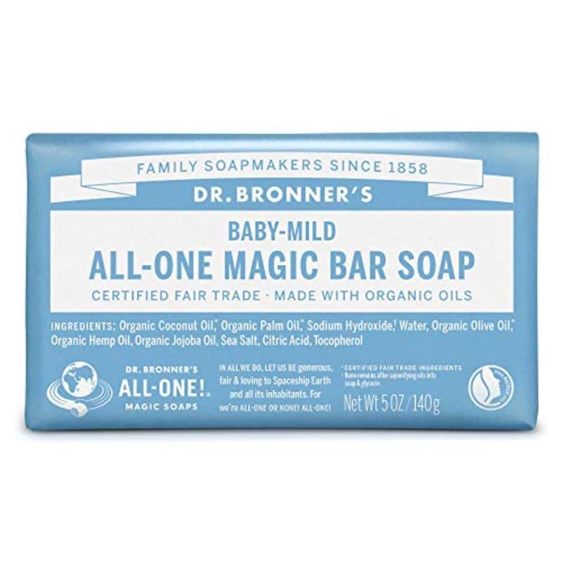 Dr.Bronner's(ドクターブロナー),マジックソープバー BA(ベビーマイルド)