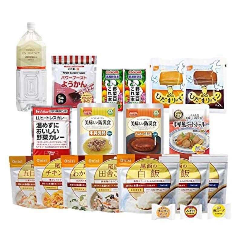 Defend,長期保存の非常食セット 栄養バランスを考慮した心も身体も満たされる非常食セット