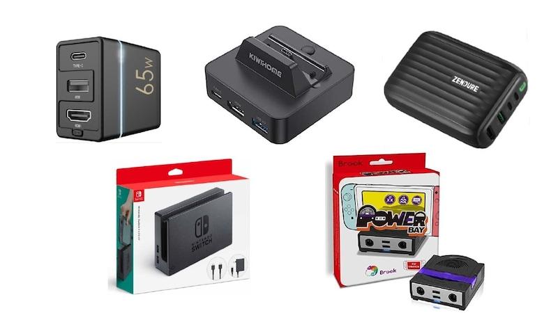 Nintendo Switchのドックおすすめ15選 持ち運びに便利な小型モデルや純正など比較!選び方も解説