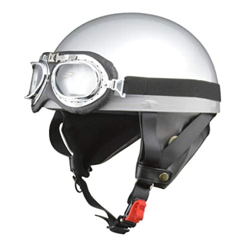 LEAD(リード工業),バイクヘルメット ハーフ,CR-751