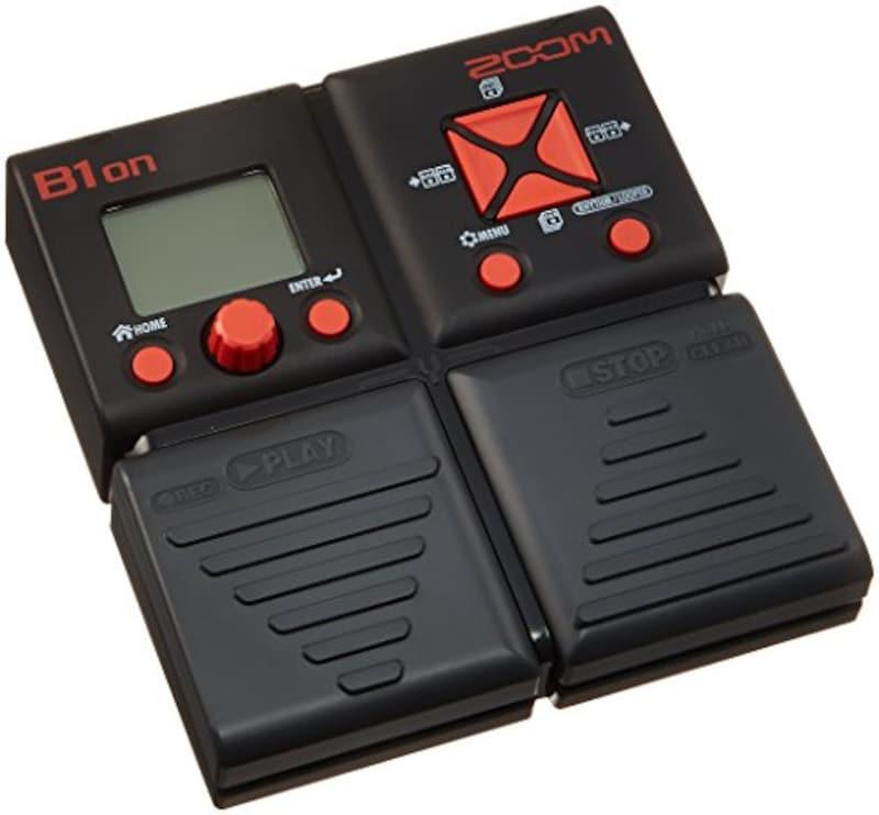 ZOOM,ベースマルチエフェクター,B1on