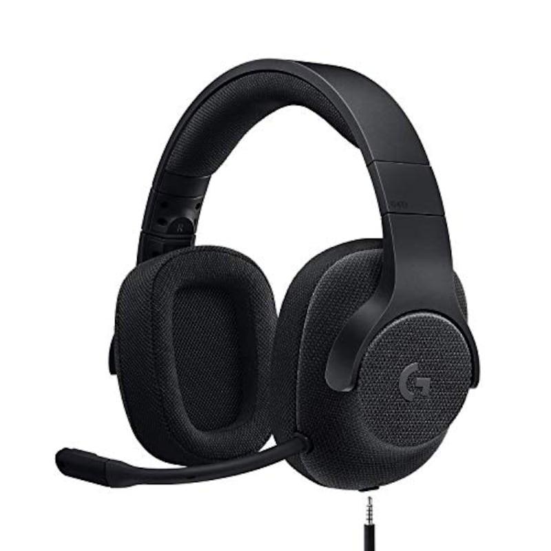 Logicool G(ロジクール G),7.1サラウンド ゲーミング ヘッドセット,G433BK