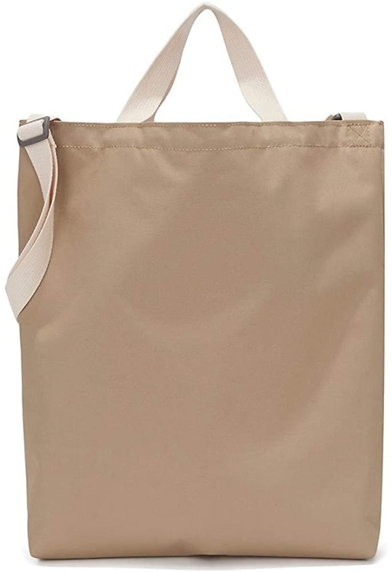 THE NORTH FACE(ザノースフェイス),FACE WHITE LABEL BIG LOGO TOTE2
