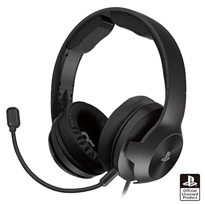 HORI(ホリ),ホリゲーミングヘッドセット ハイグレード for PS4 ブラック,PS4-146