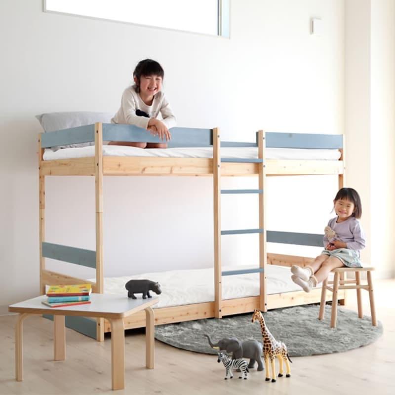 家具の里,国産ひのき二段ベッド,a3-0172