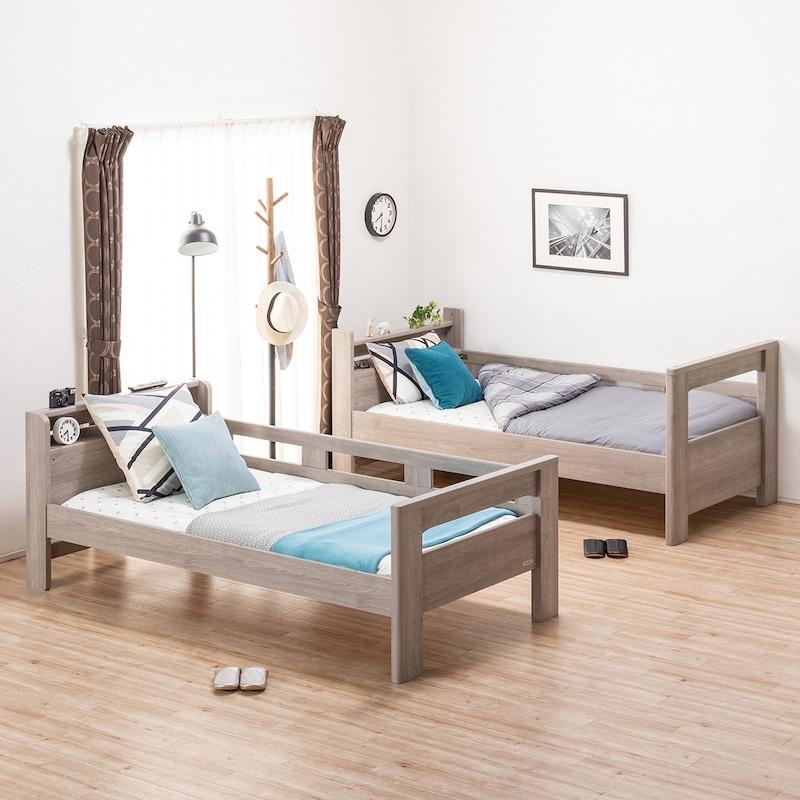 NITORI(ニトリ),棚&コンセント付き2段ベッド(GYB),5653320
